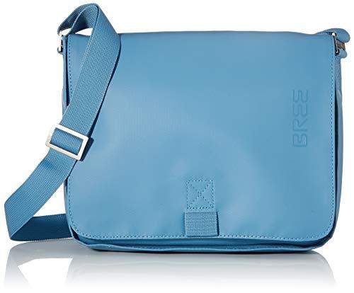 BREE Unisex-Erwachsene Punch 61, Provencial, Sh. Bag S W19 Umhängetasche, Blau (Provincial Blue), 6x21x26 cm