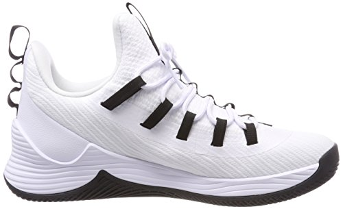 Nike Jordan Ultra Fly 2 Low, Chaussures De Basketball Homme Blanc (whiteblackwhite 100)