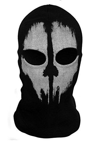 skull ghosts Bandana Guru Balaclava Fantasmi Teschio Maschera Maschera Sci Maschera Motociclismo Maschera Vento Snowboard Sport all/'aria aperta Paintball