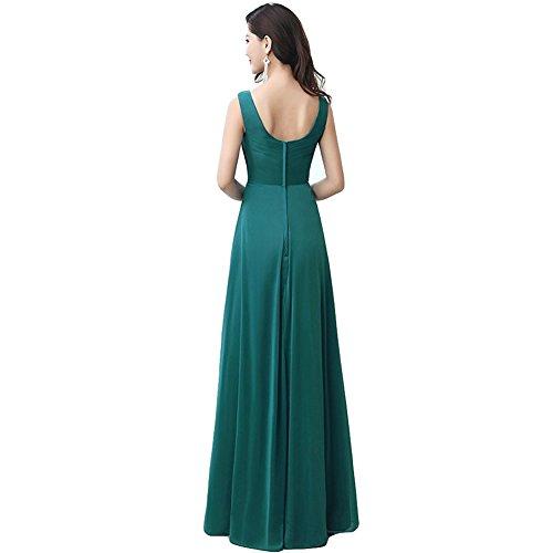 June's Young Femmes Robe De Cérémonie Soirée Cocktail Mariage Robe Demoiselle D'honneur Vert
