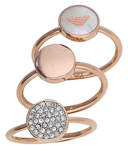 Emporio Armani Damen Ring EGS2310221 (Michael Kors-charme-gold)