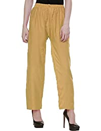 Vastraa Fusion Rayon Stylish Palazzo / Pant - Available In Multiple Colour Options; Freesize - B07587J1KC