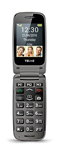 TELME X200 2 4 90g Negro Tel fono b sico - Tel fono m vil Concha SIM nica 6 1 cm 2 4 Bluetooth 800 mAh Negro
