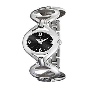 Festina F16467/5 - Reloj analógico de cuarzo para mujer con correa de acero inoxidable, color plateado de Festina