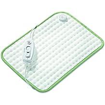 Beurer BASIC 1 - Almohadilla electrónica, 100 W, 44 cm x 33 cm, color blanco