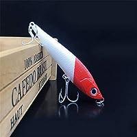 Cebo para peces luminosos, equipo de pesca con cebo para simulación de grasa pequeña, tentación flotante, natación realista, cebo para bajos El cebo para ganchos es difícil ( tamaño : 9.5cm-22g )