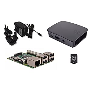 41frHMtpbJL. SS300  - Raspberry Pi 3 Official Desktop Starter Kit