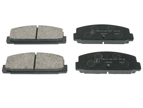 Preisvergleich Produktbild Blue Print ADM54248 Bremsbelagsatz (hinten, 4 Bremsbeläge)
