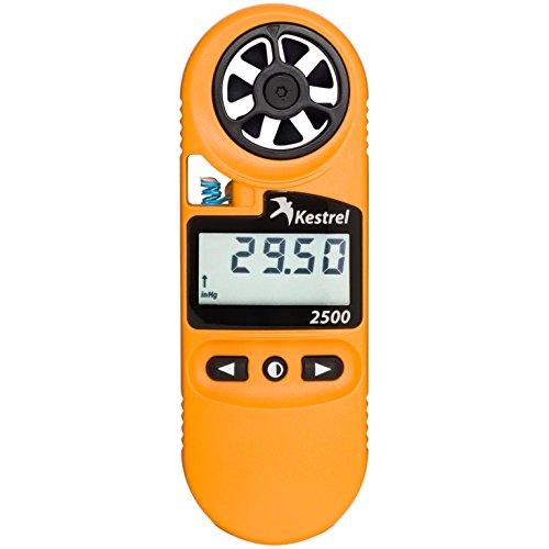 Kestrel 2500 Pocket Weather - Estación meteorológica, Color Naranja