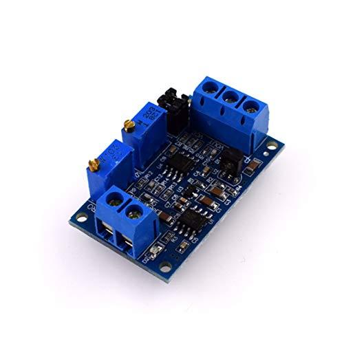 HW685 Current to Voltage Module 0/4-20mA to 0-3.3V5V10V Voltage Transmitter Signal Conversion Support Multiple Ranges -
