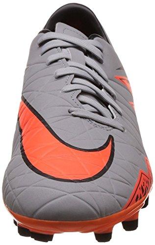 Nike Hypervenom Phelon II FG, Scarpe da Corsa Uomo Gris