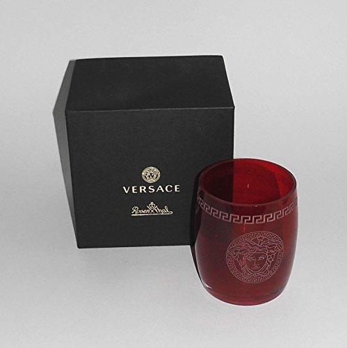 Rosenthal Versace Medusa Crystal Red - Gläser Whisky - NEU 1.Wahl