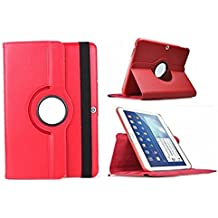 """Theoutlettablet® Funda Giratoria 360º para Tablet Bq Aquaris M10 10.1"""" Book cover case Protección delantera y trasera Color ROJO"""
