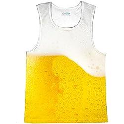 Cerveza camiseta de tirantes multicolor