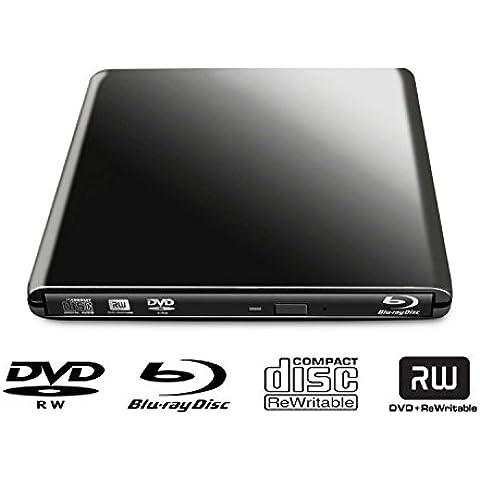 Kosee SuperDrive Riproduttore Blu-Ray e Masterizzatore DVD 3D Multi BD