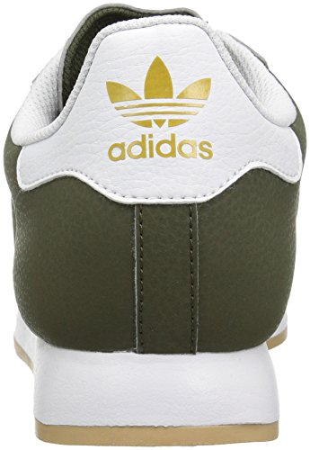Adidas Samoa Cuir Baskets Vert