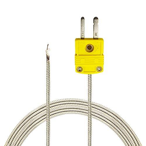 Perfect-Prime TL0700, K-Typ Sensor-Sonde fur K-Typ Thermoelement Thermometer/Meter im Temperaturbereich von -30 bis 700 °C / 1292 °F -