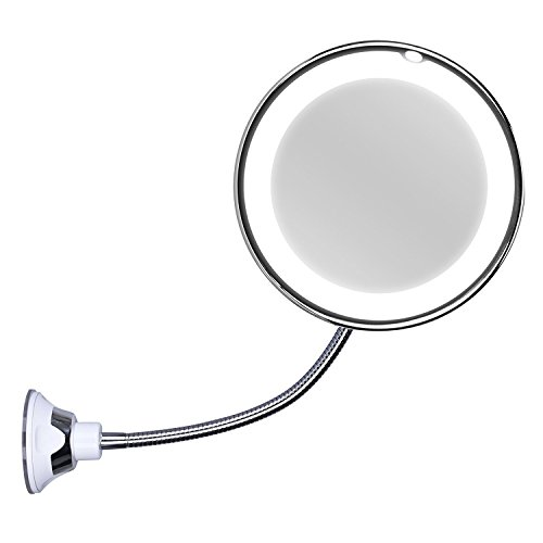 kedsum-flexible-gooseneck-10-x-magnifying-led-lighted-mirror-illuminated-travel-makeup-mirror-lockin