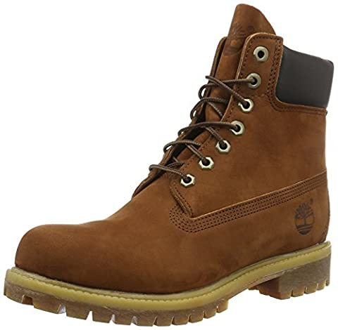 Timberland 6in premium boot, homme-Bottes homme, Marron 44EU