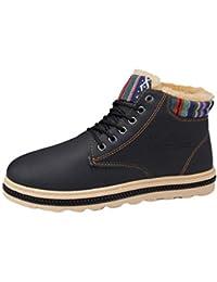TianBin Stivali da Neve Invernali Uomo Impermeabili Scarpe da Piatto  Stivaletti Caldo All aperto Sneaker 1e86900d7f2