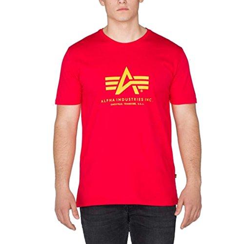Alpha Industries Basic Logo Shirt speed red
