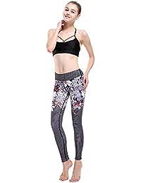 30e86ee76e02b Easy Go Shopping Women Running Yoga Pants Workout Gym Leggings Map XXXL