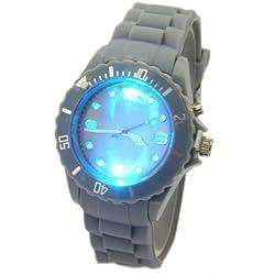 Leucht Armbanduhr Grau F4-2/8