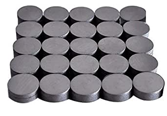 PERFECT MAGNETS Ferrite Magnets Strong 18 Mm X 4 Mm - 25Pcs