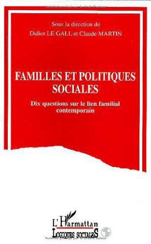 Familles et politiques sociales