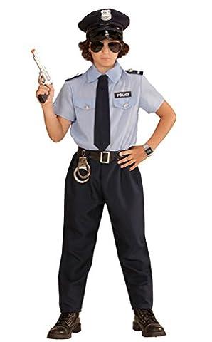 ,Karneval Klamotten' Kostüm Polizist Sander Junge Karneval Polizei Jungenkostüm Größe 116 (Fbi-kostüm Für Jungen)