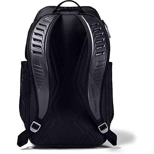 Under Armour Undeniable 3.0 Backpack, Black/Black, One Size Image 2