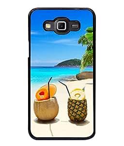 PrintVisa Designer Back Case Cover for Samsung Galaxy Grand 2 :: Samsung Galaxy Grand 2 G7105 :: Samsung Galaxy Grand 2 G7102 :: Samsung Galaxy Grand Ii (Abstract Illustration Dessert Food Sweet Tasty Straw Trees)
