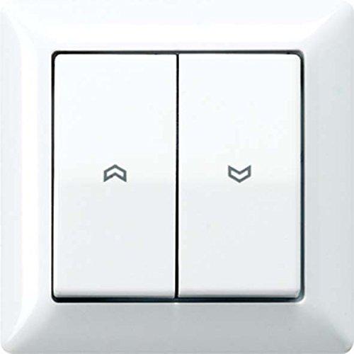 Preisvergleich Produktbild Jung AS590-5PWW Wippe für Jalousie-Schalter/-Taster