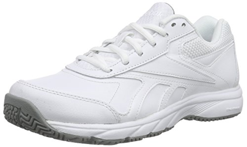 Reebok Work N Cushion 2.0 Scarpe Low-Top, Donna, Bianco (Weiß (White/Flat Grey)), 38