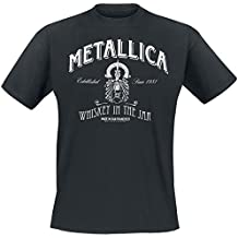 Metallica Whiskey In the Jar Camiseta Negro