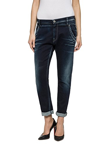 Replay Denice, Jeans Femme Bleu - Blau (Blue Denim 9)