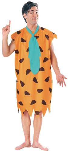 Kostüm Fancy Italienische Dress - Fred Flintstone's Fancy Dress Men's Cartoon Costume New