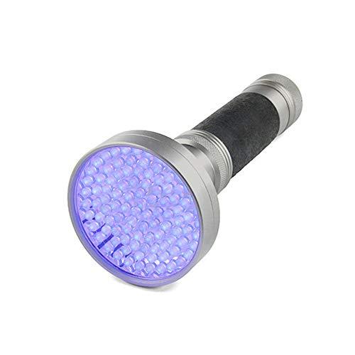 Delisouls 100 LED UV UV Taschenlampe, 395-400nm Violett Taschenlampe, Scorpion Käfer Detektor Licht