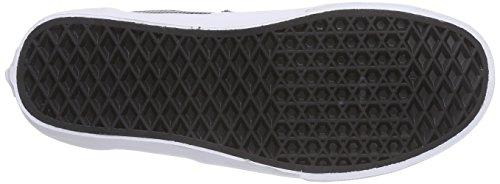 Vans U ERA Unisex-Erwachsene Sneakers Schwarz ((Perf Leather) black)