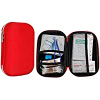 Yuan Ou Kit Primeros Auxilios First Aid Bag Kit Camping Portable Outdoor Medical Pack Survival Rescue Box como se Muestra 261Pcs