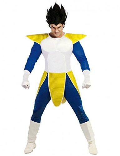 Vegeta Dragon Ball Z-Kostüm für Erwachsene - Größe M / L - (Dragon Vegeta Ball Kostüm)