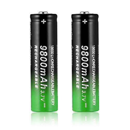 Oupeng 3.7V 18650 9800mAh Batería Recargable Iones