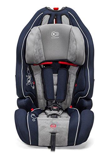Kinderkraft Smart Up Kinderautositz Autokindersitz Kindersitz 9 bis 36 kg Gruppe 1 2 3 Dunkelblau