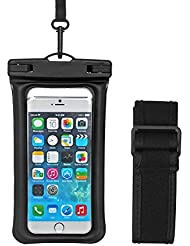 Etui étanche pour téléphone, AresKo IPX8 Airbag sac étanche TPU Téléphone Sac sec Baguette sportive Housse de protection universelle pour iPhone 6 6 plus iPhone 7 7P Samsung S8 OPPO R9S et plus