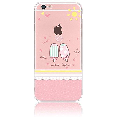 iPhone 4s Case Silicone - Sunroyal® Coque Souple Transparente TPU Silicone en Gel Case Premium Ultra-Light Ultra-Mince Skin de Protection Pare-Chocs Anti-Choc Bumper pour Apple iPhone 4/4s, Fée Pattern 22