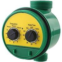 CAIDUD - Temporizador de riego para jardín, Color Verde