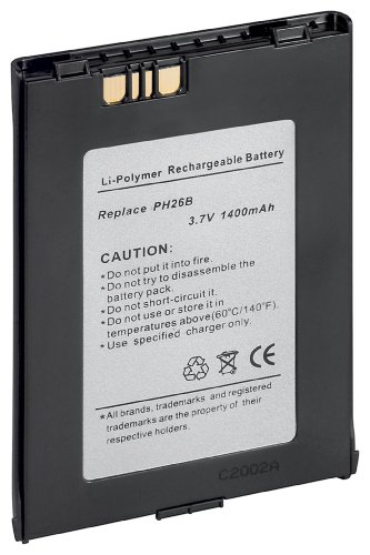 M-Cab PDA Battery for O2 XDA III