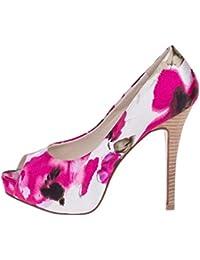 ROBERTO BOTELLA - Peep toes estampado flores - Color Multi Color - Combi1 - Talla 40