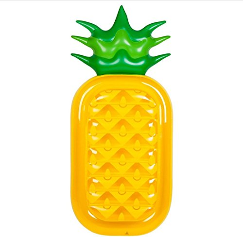 CRMM Giant Pineapple Colchoneta Hinchable, Inflable Floatie Lounge/Pool Loungers Juguete Para Adultos...