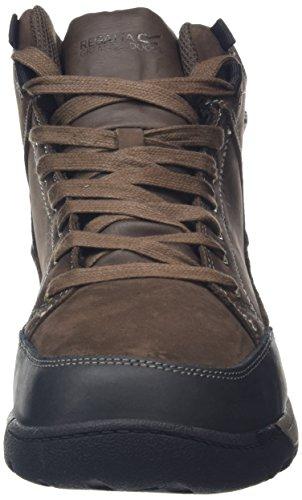 Regatta Southend Mid, Chaussures de Randonnée Basses Homme, 40.5 EU Marron (Indianchestn 1Kd)